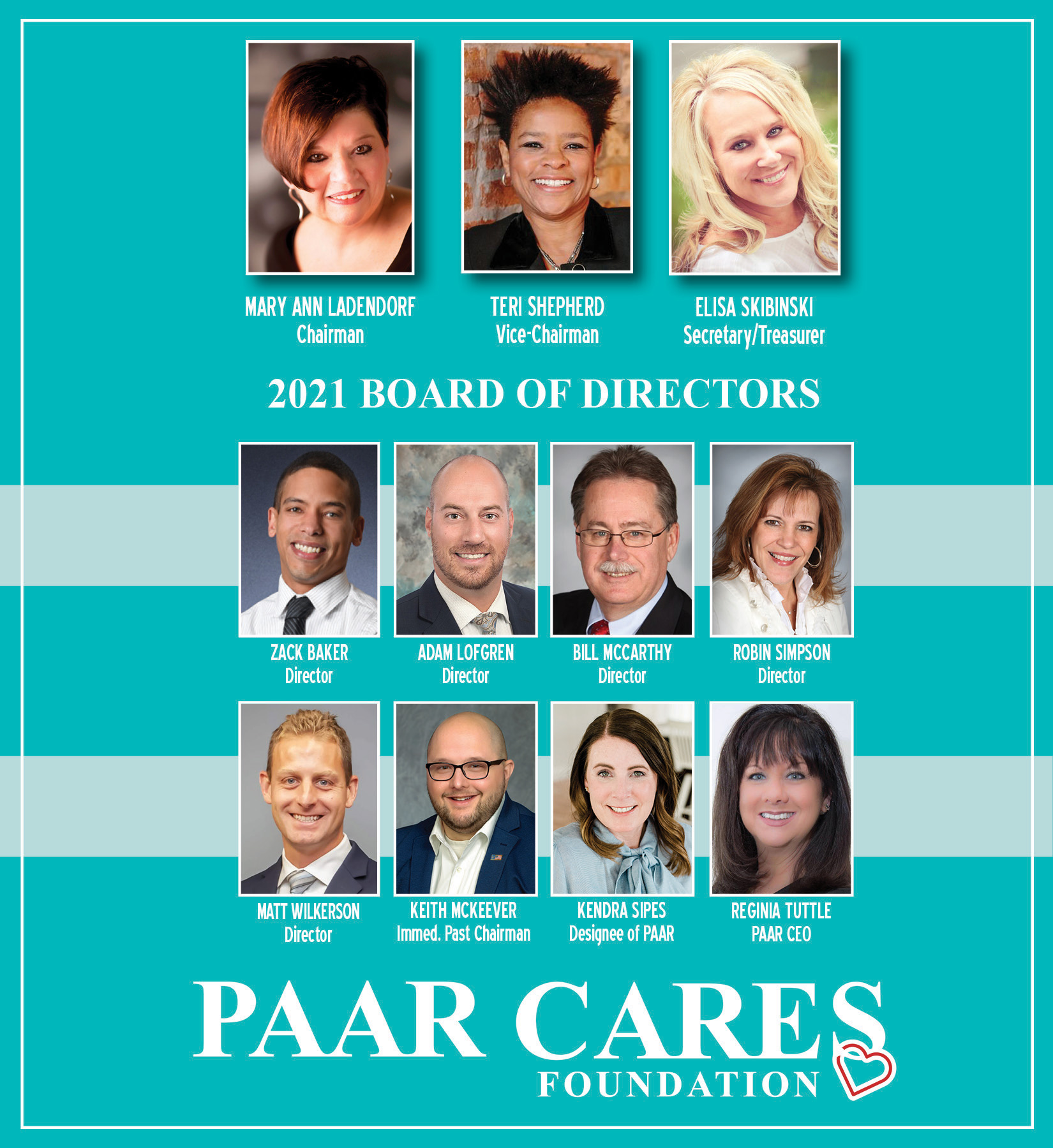 PAAR CARES Board of Directors